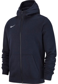 Nike JR Sweatshirt Team Club 19 Full-Zip Fleece AJ1458 451 Dark Blue M