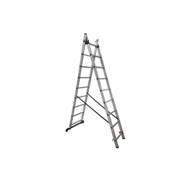 HausHalt BL-E209 Double-Sided 9-Steps Ladders