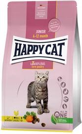 Happy Cat Junior Dry Food Farm Poultry 4kg