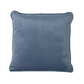 Home4you Velvet Pillow 45x45cm Blue
