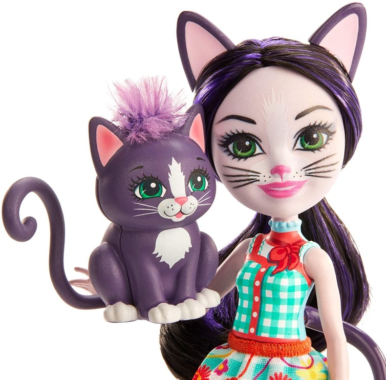 Nukk Mattel Enchantimals Ciesta Cat & Climber GJX40