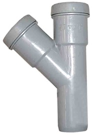 Kolmik Wavin 50/50 mm, 45°, PVC, hall