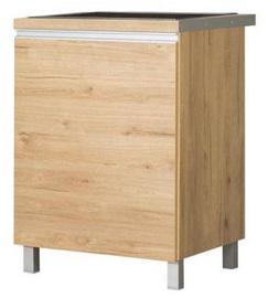 Нижний кухонный шкаф Bodzio Monia Under Sink 60 Right Brown, 600x520x860 мм