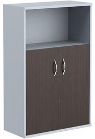 Skyland Imago ST-2.1 Office Shelf 77x120x36.5cm Wenge Magic/Metallic