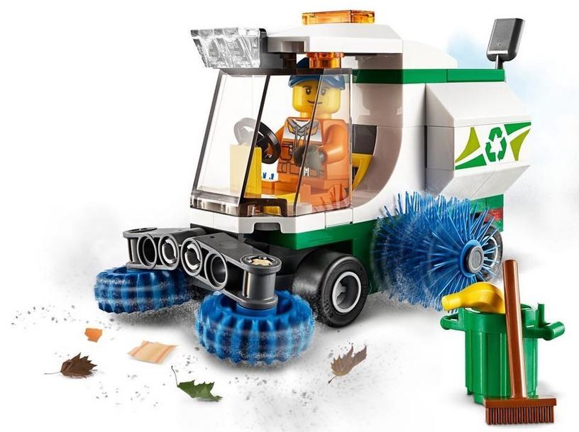 Konstruktor LEGO® City 60249 Tänavapuhastusauto