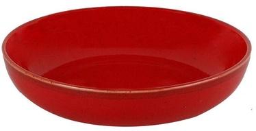 Porland Seasons Shallow Bowl D17cm Red