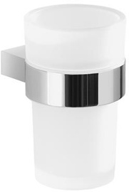 Gedy Canarie Toothbrush Holder Chrome/White A210-13