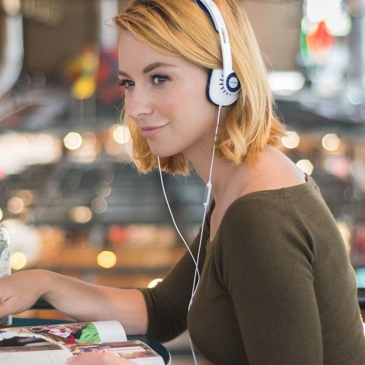 Koss KPH30i On-Ear Headphones White