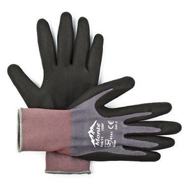Monte Nylon + Spandex Gloves With Nitrile Micro Foam Palm 8