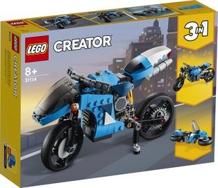 KONSTRUKTOR LEGO CREATOR SUPERBIKE 31114