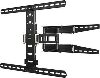 "Hama FullMotion TV Wall Bracket 70"" Black"