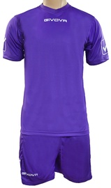 Givova Sports Wear Kit MC Purple XL