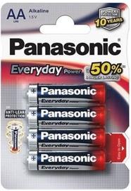 Panasonic LR6 Alkaline Battery AA x 4
