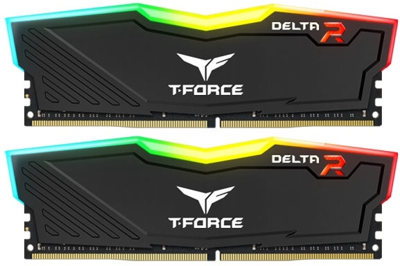 Team Group Delta RGB 16GB 2400MHz CL15 DDR4 KIT OF 2 TF3D416G2400HC15BDC01