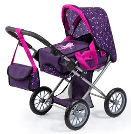 Bayer City Star Dolls Pram Purple/Pink