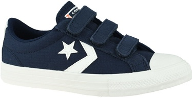 Converse Star Player Kids Low Top 667547C Blue/White 37.5