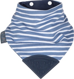 Cheeky Chompers Neckchew Teething Bib Preppy Stripes