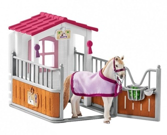 Schleich Horse Stall With Lusitano Mare Set 42368