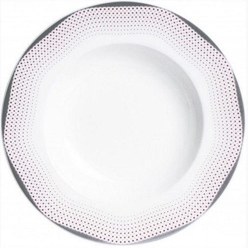 Quality Ceramic Mirage Soup Plate 23cm