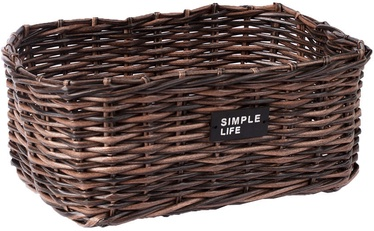 Home4you Basket Ruby-3 35x25x14cm Brown