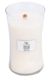 WoodWick Teak Candle 609.5g White