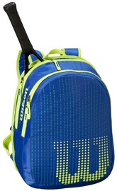 Wilson Junior Backpack For 2 Rackets Blue/Yellow