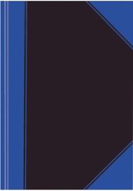 Herlitz Notepad C.V. A7/100 Pages Blue/Black