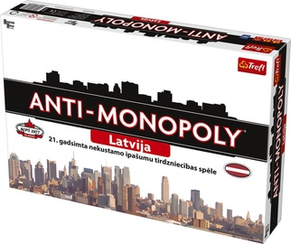 Lauamäng Trefl Anti-Monopoly Latvia 01690, LV