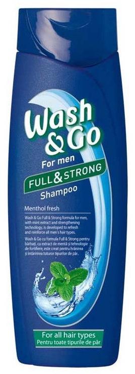 Wash&Go Men Menthol Fresh Shampoo 400ml