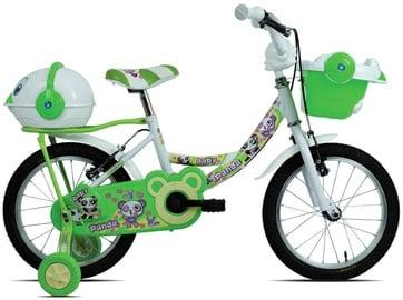 "Laste jalgratas Esperia Game Girl Panda, valge/roheline, 14"", 14"""