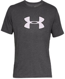 Under Armour Mens Big Logo T-Shirt 1329583 019 Grey L
