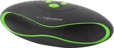 Juhtmevaba kõlar Esperanza EP117KG Black/Green, 3 W