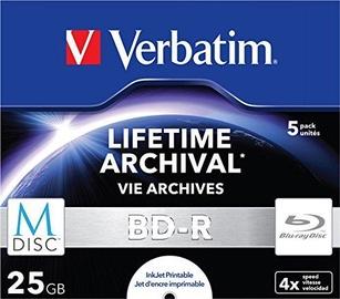 Verbatim M-DISC BD-R 25GB 5pcs Jewel Case