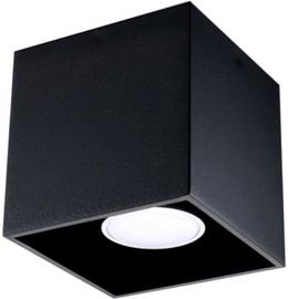 Sollux Quad Ceiling Lamp SL.0022 40W GU10 Black