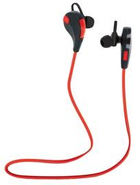 Kõrvaklapid Forever BT BSH-100 Red/Black, juhtmevabad