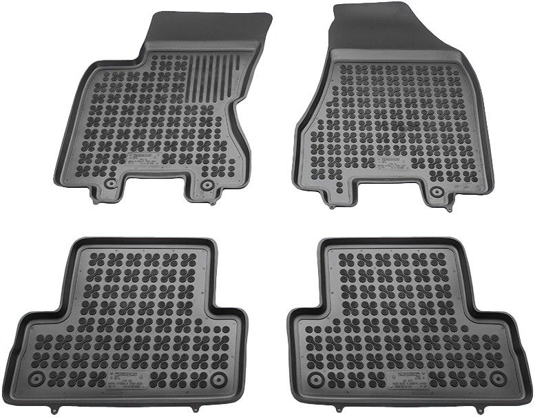 REZAW-PLAST Nissan X-Trail II 2007-2013 Rubber Floor Mats