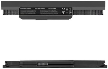 Qoltec Long Life Notebook Battery For Asus A32-K53 4400mAh
