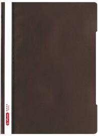 Herlitz Flat File PP Quality A4 Dark Brown