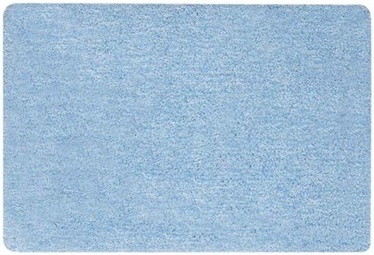 Spirella Gobi Bathroom Rug Light Blue