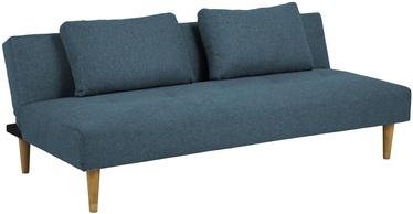 Диван-кровать Home4you Lucca AC90158, синий/зеленый, 86 x 180 x 67 см