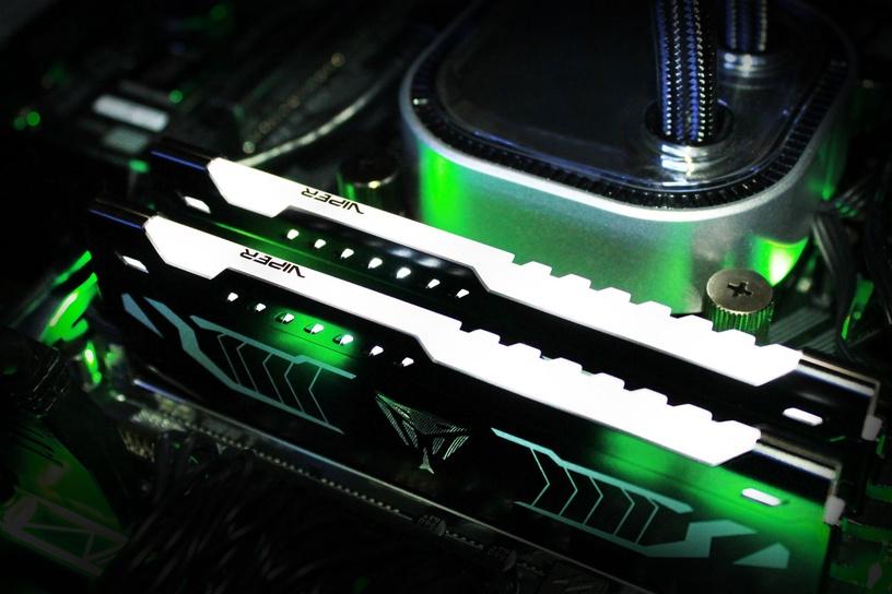 Patriot Viper LED White 16GB 3200MHz CL16 DDR4 KIT OF 2 PVLW416G320C6K