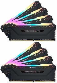 Corsair Vengeance RGB Black 128GB 3200MHz CL16 DDR4 KIT OF 8 CMW128GX4M8C3200C16