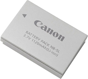 Canon NB-5L Lithium-Ion Battery 1120mAh