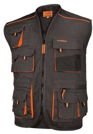 Art.Master Classic Work Vest Grey/Orange 58