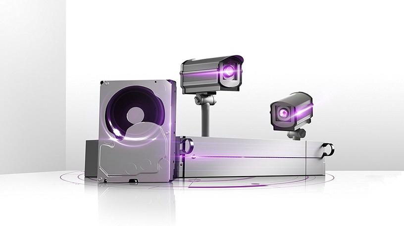 Western Digital Purple Series 6TB 5400RPM SATAIII 64MB Surveilance Hard Drive WD60PURZ