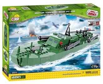 Cobi Small Army Motor Torpedo Boat PT-109 480pcs 2377