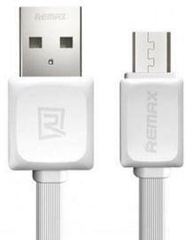 Remax Super Flat Universal Micro USB Cable 1m White