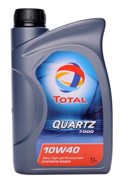 Mootoriõli Total Quartz 7000 10w40, 1 l