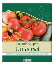 Orgaaniline universaalne kompost Biohumus & Soil 30 l