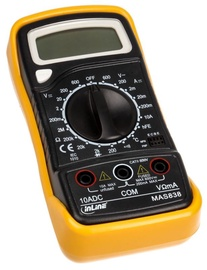InLine Multimeter With Temperature Probe / Transistor Testing